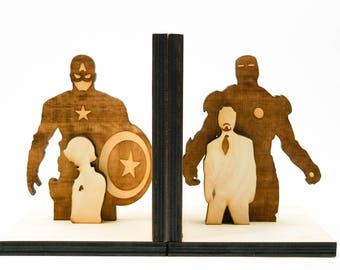 Bookends, Super Heroes