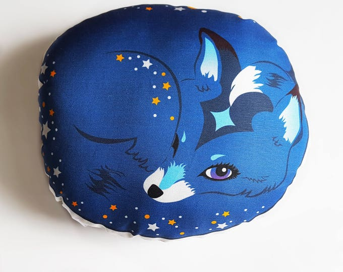 Blue Fox- Finegan Starlight decorative pillow