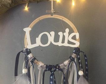 Attrape-rêve personnalisé Louis