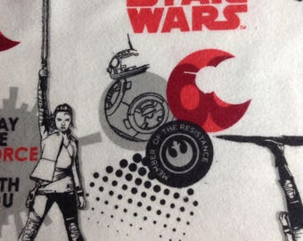 One Yard of Fabric Material - Star Wars FLANNEL, Star Wars Fabric
