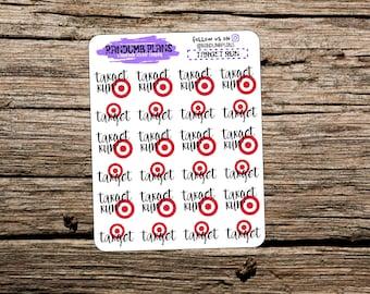 Target Shopping Trip (Matte) | Planner Stickers
