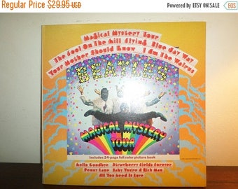 Save 30% Today Vintage 1971 LP Record The Beatles Magical Mystery Tour Stereo Excellent Condition 11851