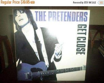 Save 30% Today Vintage 1986 Vinyl LP Record The Pretenders Get Close Near Mint Condition PROMO Copy 6329