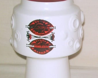 Crown Devon Art Pottery Vase No. 1514 - Colin Melbourne c1960s