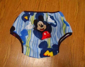 Adult Baby Diaper Cover. S. fleece mickey