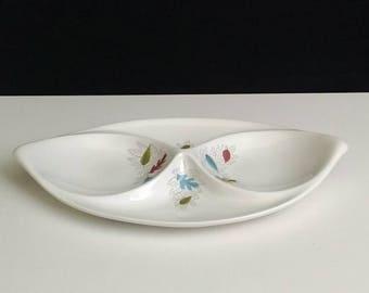 Eva Zeisel - Hallcraft Century Serving Platter, Fern Pattern - Mid-Century Modern - MCM - Modern Dinnerware