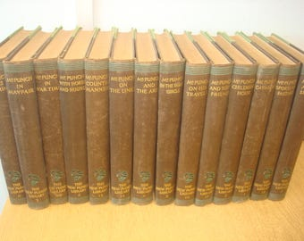 Set of 14 New Punch Library Books. Educational Book Company