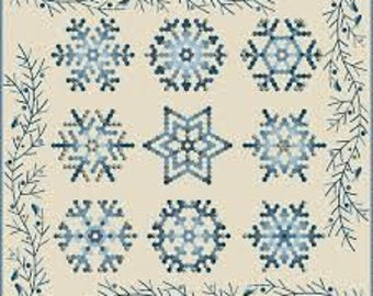 Snowflake by Edyta Sitar - Complete Pack Papers and Template