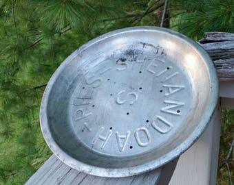 Shenandoah Pie Pan Antique Pie Tin #3