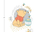 Memorial Day Sale Winnie The Pool~Bear Panel 36In X 44In Cotton Fabric By Camelot Fabrics