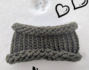 Rosa Cowl - pet knit cowl perfect for cozy fall and winter wear