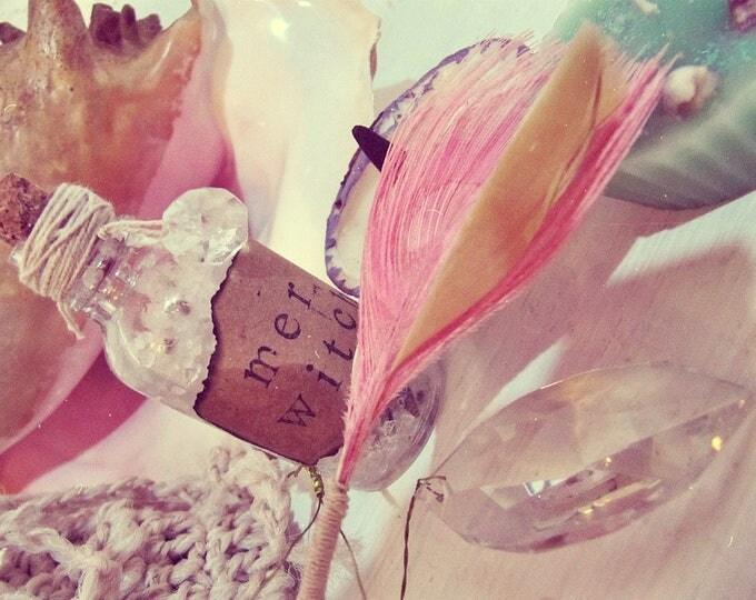 Mermaid Gift Set - Magic Altar Travel Kit - Aromatherapy Meditation Kit - Boho Decor - Witch Altar - Witchcraft Decor - Mermaid Altar