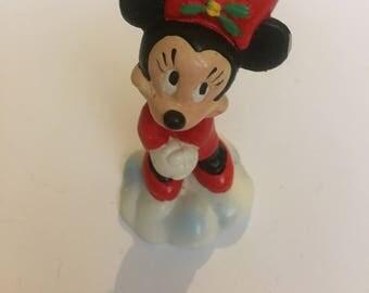 Vintage Bullyland Disney Minnie Mouse PVC Figure