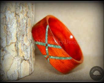 Bentwood Ring - Cocobolo Classic Wooden Ring