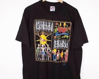 1993 CONCRETE BLONDE t shirt - vintage 90s grunge
