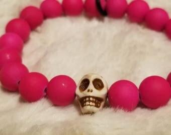 Crossfit WOD round counter bracelet- neon colors