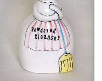 Holt Howard Vintage Cozy Kitten Powdered Cleanser Shaker Dated 1959 (Inventory #M1203)
