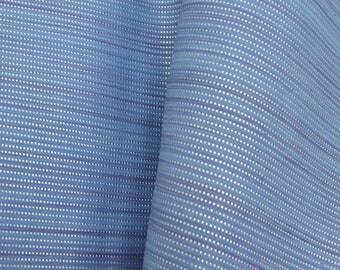 "Fashion Silver & Blue Rushing Current Leather Cow Hide 12"" x 12"" Pre-cut 2 1/2-3 ounces DE-62942 (Sec. 6,Shelf 4,A)"