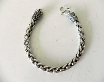 wheat weave bracelet