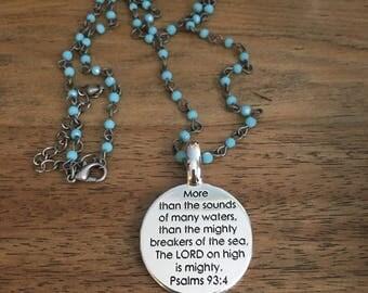 Psalm necklace