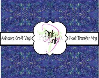 Beautiful Paisley Craft Vinyl and Heat Transfer Vinyl Pattern 456