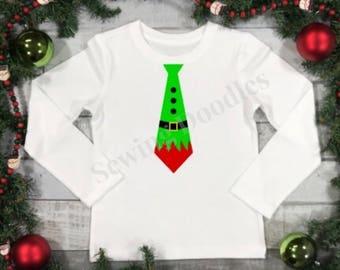 Elf Tie Graphic T-shirt
