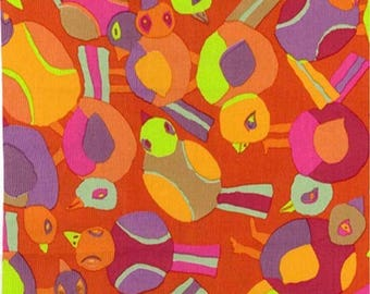 ROUND ROBIN RED Brandon Mably for Kaffe Fassett Collective