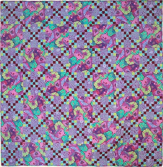"ROAD TO IRELAND Quilt Fabric Pack ""Quilts In Ireland"" Kaffe Fassett"