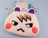 Marshal Animal Crossing Pouch   Animal Crossing Pencil Case   White Squirrel Pouch   Marshal Pencil Case