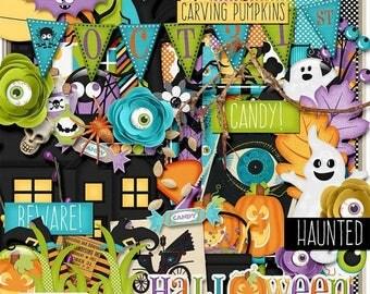 ON SALE NOW 65% off October 31st Digital Scrapbook Kit