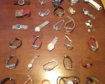 30 pc watch lot. Nice mix. A2   84 cents each Free delivery. 24.77