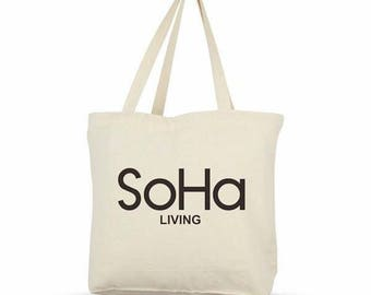 SoHa Logo Canvas Eco Tote