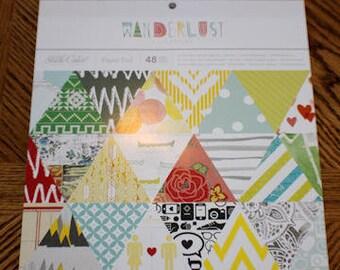 "Studio Calico ""Wanderlust"" 12"" x 12"" Paper Pad"