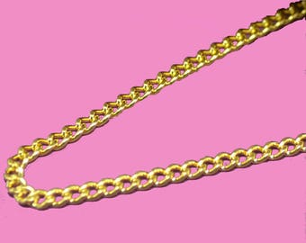 Chain 3x2mm color gold