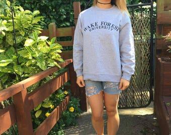 American 80s college sweatshirt