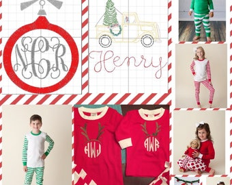 Christmas Holiday Pajamas PRE-SALE - kid, baby, toddler