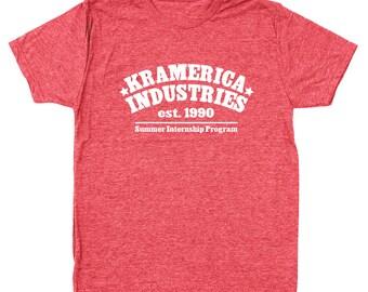 Kramerica Industries Funny Humor 80S Men's Tri-Blend T-Shirt DT0148