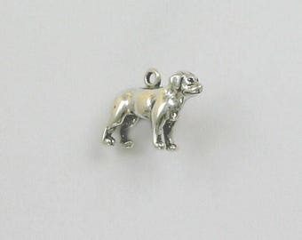 Sterling Silver Labrador Retriever Dog Charm