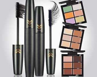 Makeup Concealer/Foundation and 3D Volume Mascara Set