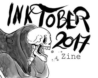 Inktober 2017 Art Zine