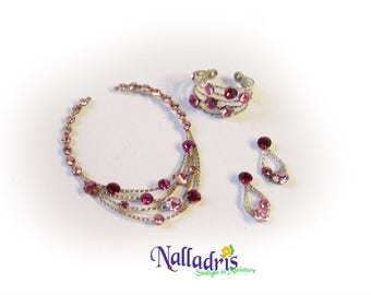 Miniature Necklace, bracelet and tiny earrings