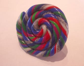 FANCY CHRISTMAS CANDY RING