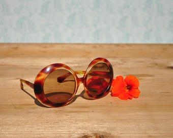 Oversize woman sunglasses, vintage sunglasses, retro sunglasses, oversized sunglasses, 70s sunglasses, bug-eye sunglasses, PIAVE sunglasses