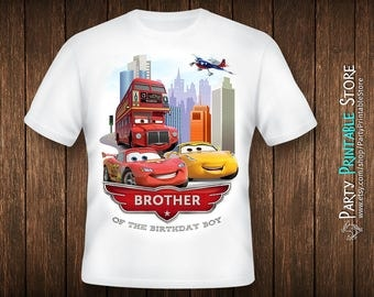 Cars birthday shirt, Cars birthday shirt for boys, Cars birthday shirt iron on, Cars birthday shirt for kids, Cars birthday shirt family