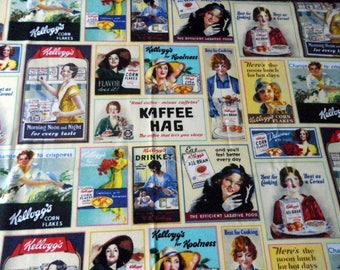 fabric poster - cereals - kitchen, breakfast