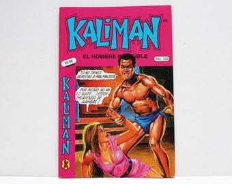 Kaliman El Hombre Increible No 109 El Faraon Sagrado Revista en Español Comic RARE
