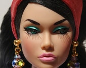 2 pairs of earrings for Fashion Royalty, Poppy Parker dolls