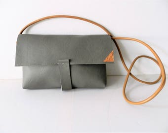 Gray Bag| Small Handbag| Festive Bag| Grey Handbag| Small Crossbody Bag| Minimalist Bag| VanCaatNL
