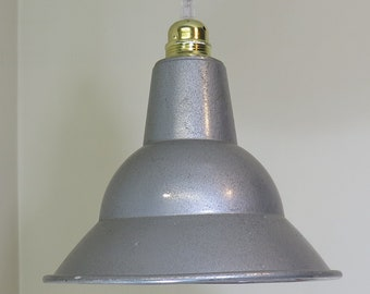 Industrial reflector shade c1950s