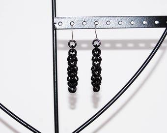 Earrings 'Shaggy Loops'